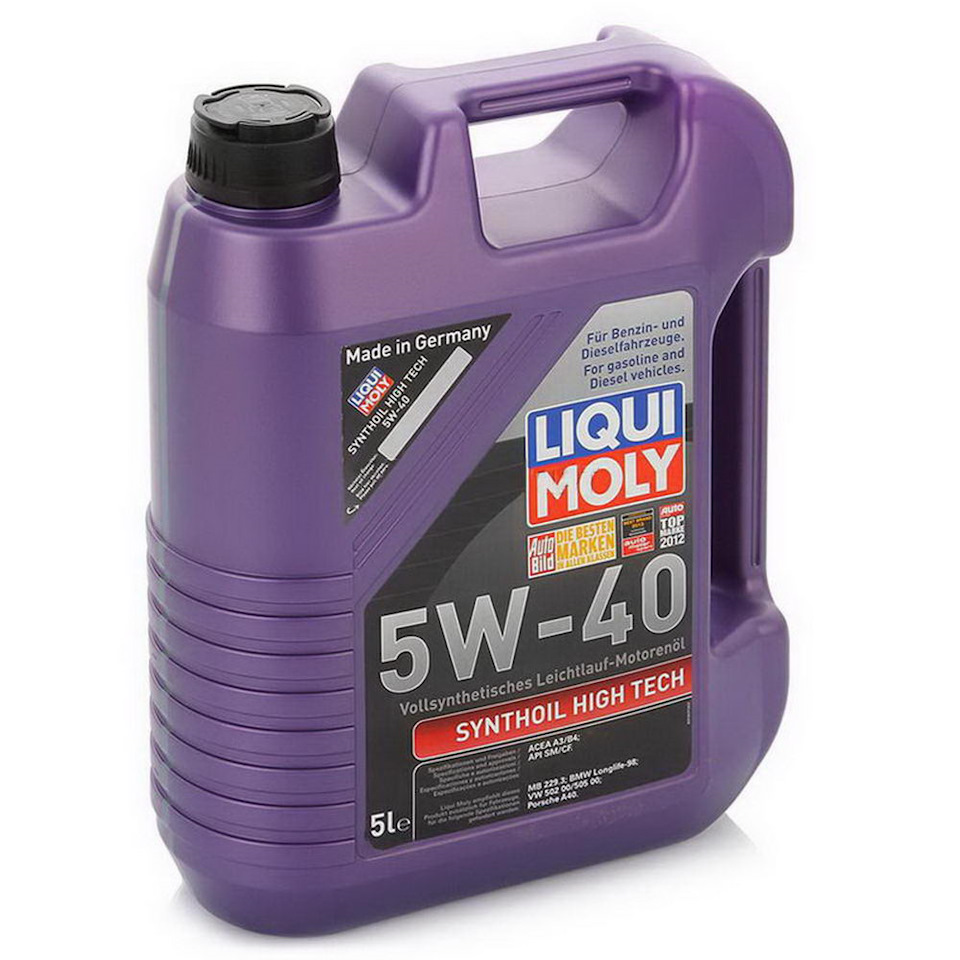 Liqui Moly Synthoil High Tech 5W-40